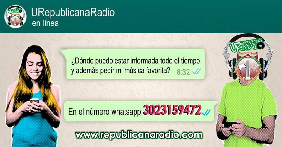WhatsApp URepublicanaRadio - Radio Universitaria