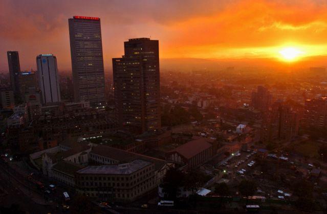 Bogotá, foto vía EFE