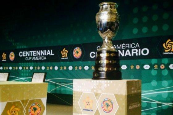 Copa América Bicentenario. foto vía AFP