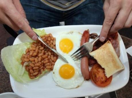 Desayuno, foto vía Getty Images