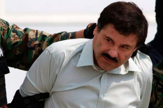 El Chapo Guzmán, foto vía AFP