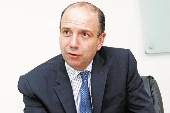 El ministro de Ambiente, Gabriel Vallejo, foto vía El Espectador