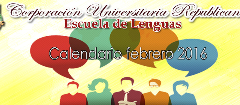 Escuela de lenguas 2016