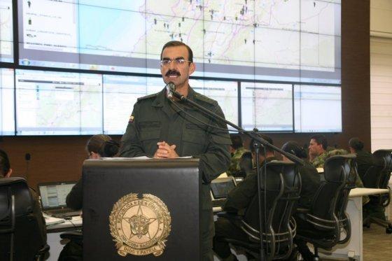 General Palomino, foto vía El Espectador