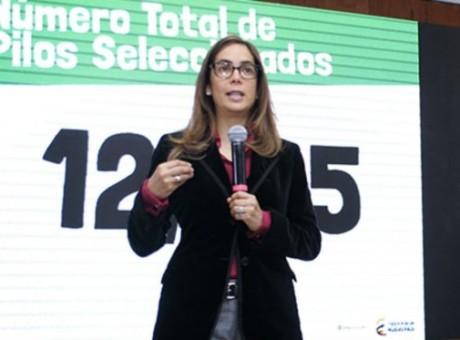 Gina Parody, Ministra de Educación, foto vía Ministerio de Educación