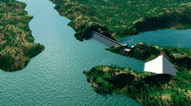 Hidroeléctrica El Quimbo, foto vía EFE