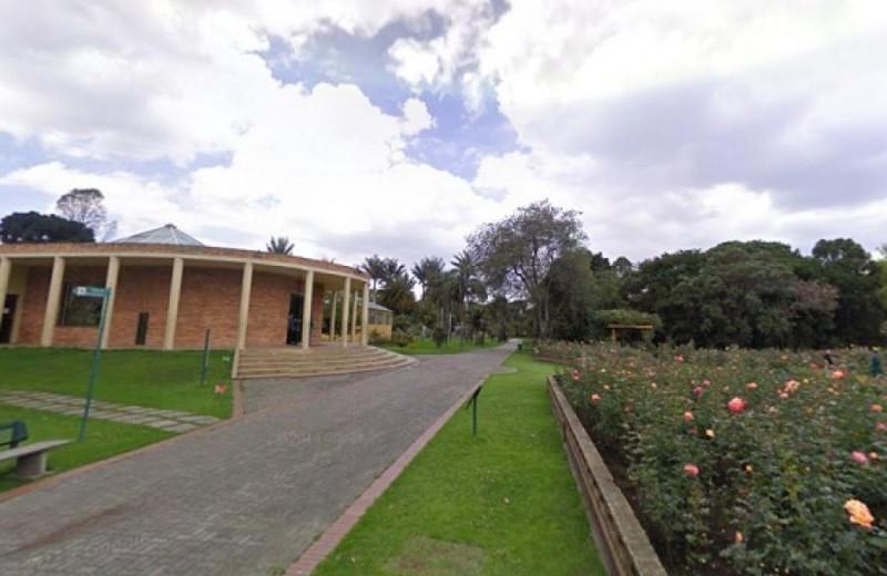 Jardín Botánico, foto vía Alcaldía de Bogotá