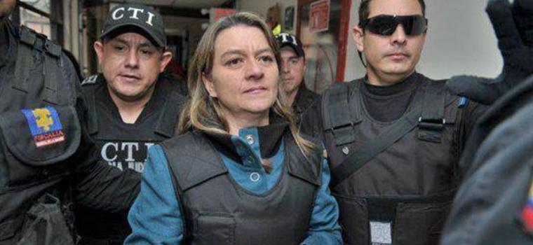 Liliana Pardo, foto vía twitter @GiordanoBrunoFi