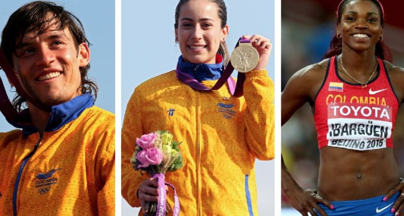 Medallistas Colombia Publimetro