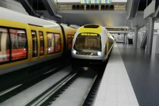 Metro Bogotá, foto vía El Espectador