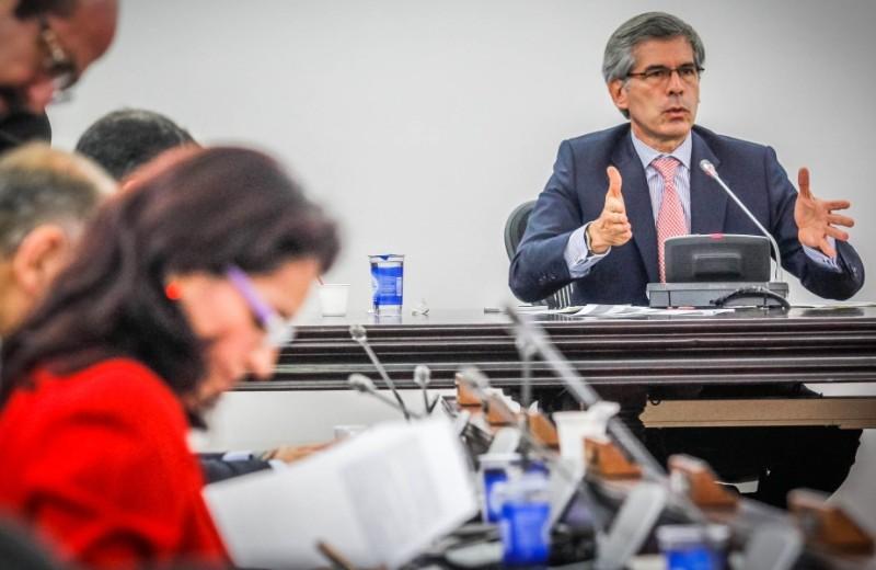 Ministro de Justicia, Yesid Reyes, foto vía Cablenoticias