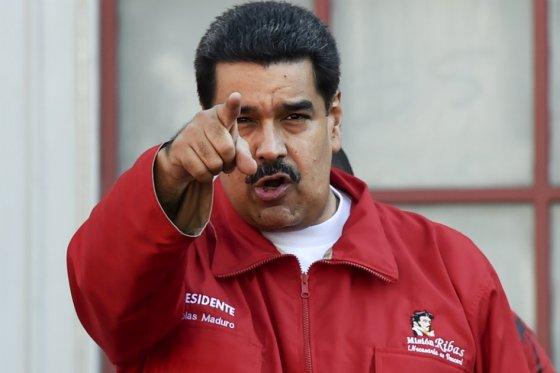 Nicolás Maduro , foto vía AFP