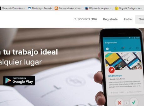 Nubelo, pantallazo web Nubelo
