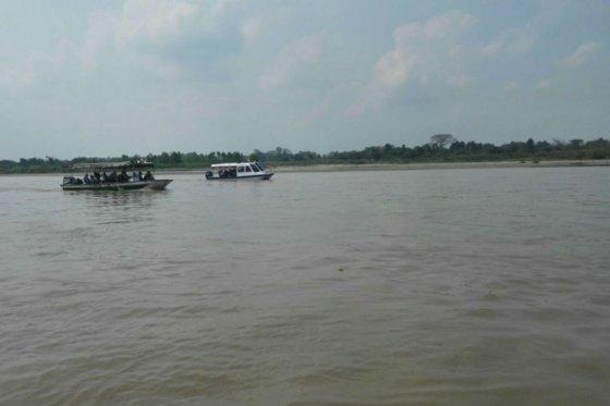 Río Magdalena, foto vía UNGRD - El Espectador