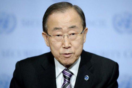 Secretario General de la Organización de las Naciones Unidas, Ban Ki-moon, foto víe EFE