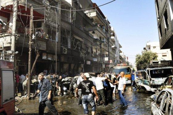 Siria, foto vía EFE