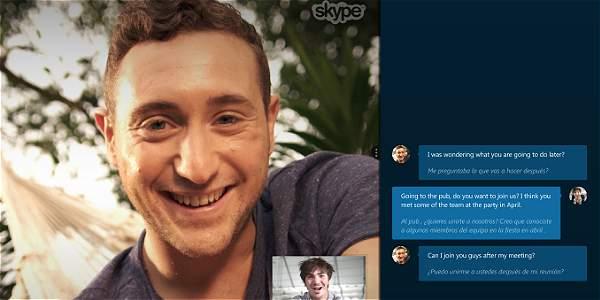 Skype, foto vía web Skype
