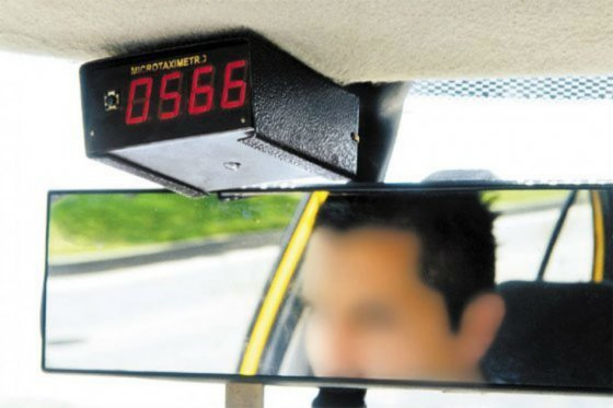 Taxímetro taxis