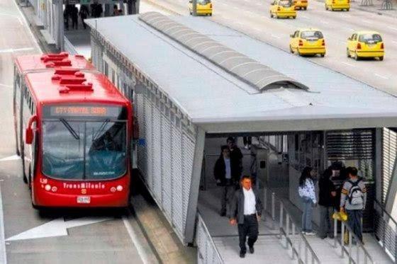 TransMilenio, foto vía El Espectador