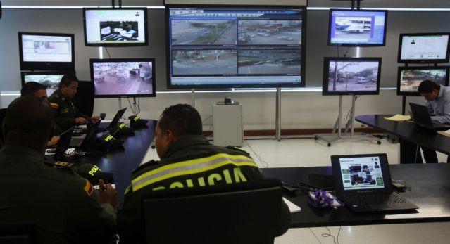 cámaras de seguridad en Bogotá, foto vía EFE