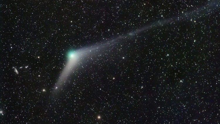 cometa Catalina foto vía NASA