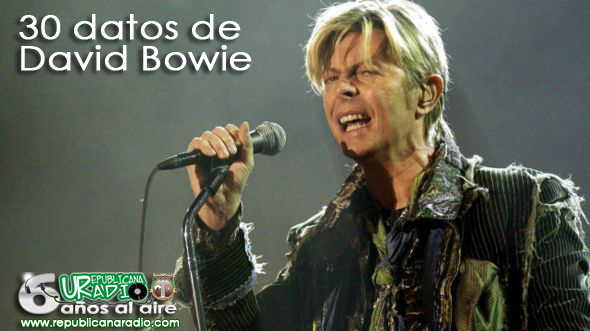 david bowie bbc datos