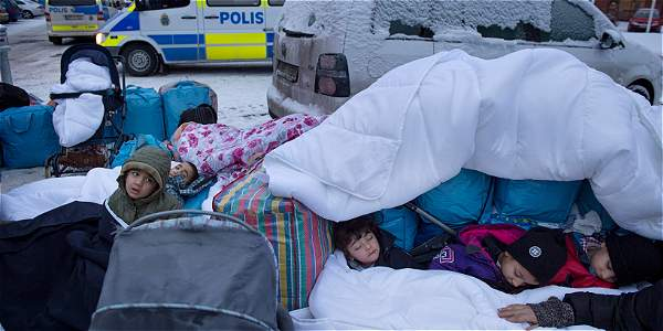 inmigrantes Estocolmo EFE