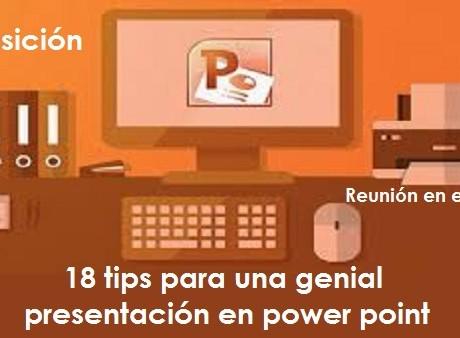 18 tips para una genial presentación power point radio universitaria urepublicanaradio imagen vía solution marker
