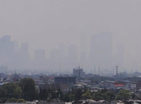 Contaminado aire