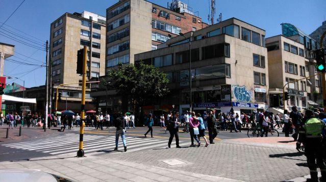 Bogotá, caller, foto vía Publimetro
