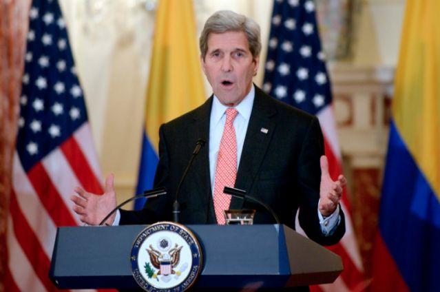 El secretario de Estado de EE.UU., John Kerry, foto vía EFE
