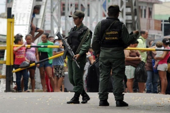 Guardia Nacional Venezolana AFP