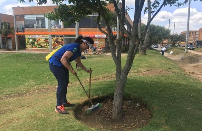Limpieza Bogotá, foto vía web Alcaldía de Bogotá