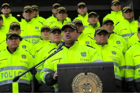 Policia Jorge Enrique Nieto Espectador