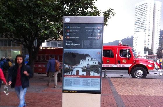 señales turisticas, foto vía web Alcaldía de Bogotá