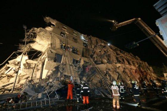 terremoto taiwan AFP