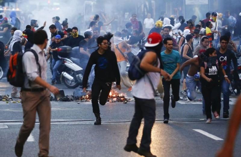 venezuela-Violencia-Protestas CN