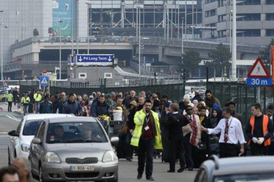 Atentados en Bruselas, foto vía AFP