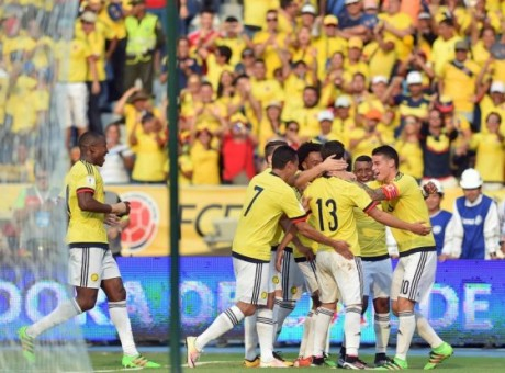 Colombia amistoso ranking FIFA