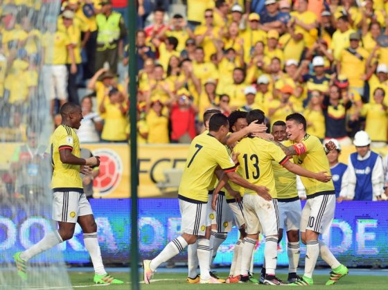 Colombia amistoso ranking FIFA