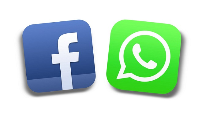 Facebook-Whatsapp, foto vía Google