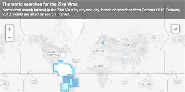 Google - Zika Captura de pantalla