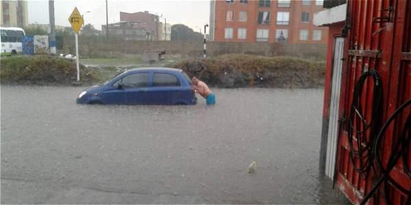Inundaciones (Foto de Referencia), foto vía el Tiempo