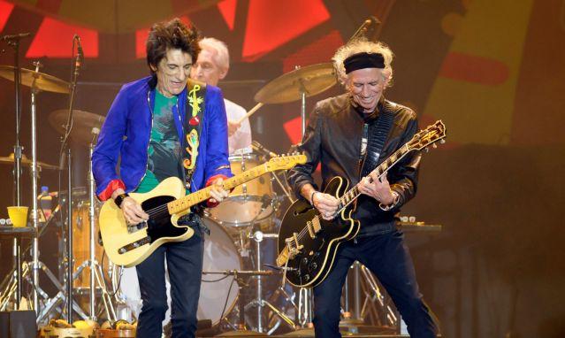 The Rolling Stones, foto vía EFE