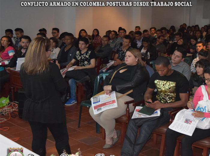 seminario CONFLICTO ARMADO EN COLOMBIA POSTURAS DESDE TRABAJO SOCIAL