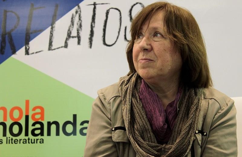 Svetlana Aleksiévich Foto Alirio Guisa