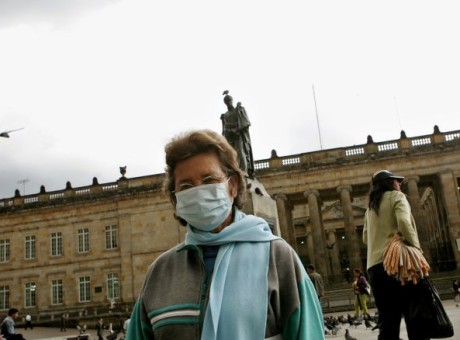 Gripa AH1N1, foto vía EFE
