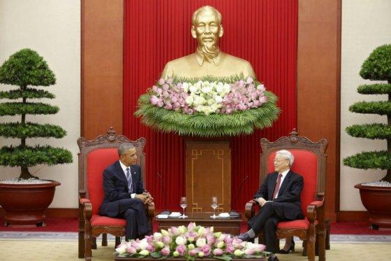Obama en Viertnam EFE