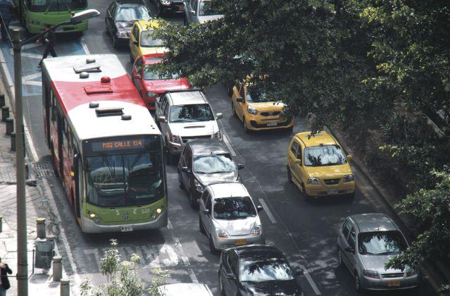 Bogotá, foto vía Publiemtro