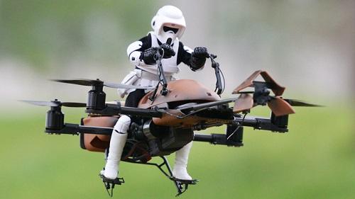 Drones, foto vía web gizmodo